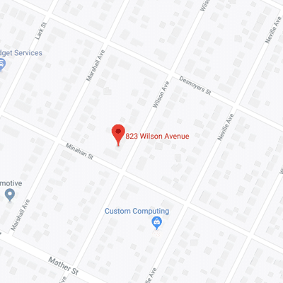 823 Wilson Avenue Map
