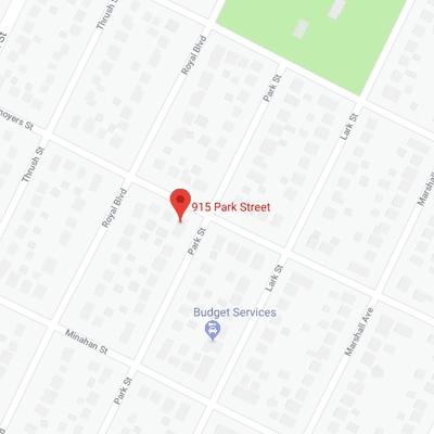 915 Park Street Map