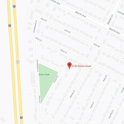 2153 Gilson Court Google Map