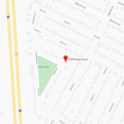 2155 Gilson Court Map