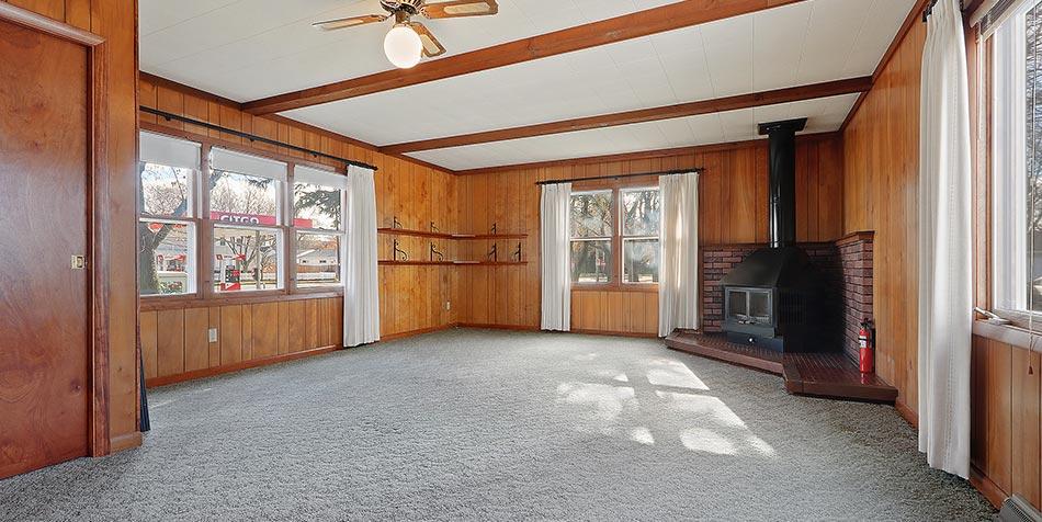 1014 4th Street Living Room Fireplace
