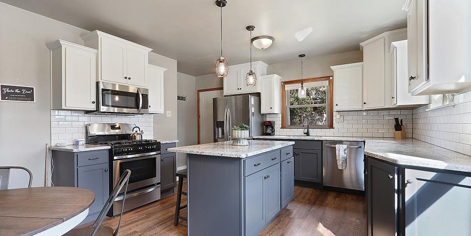 821 Royal Boulevard - Whole Kitchen View