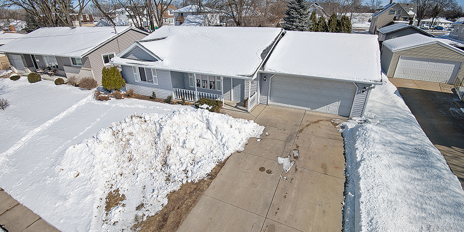 954 Coppens Road - Aerial View of House